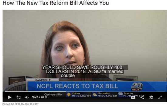 erin spiwak on tv discussing tax reform thumbnail