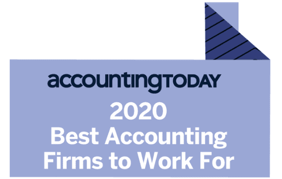 logo denoting best accounting firm to work for status