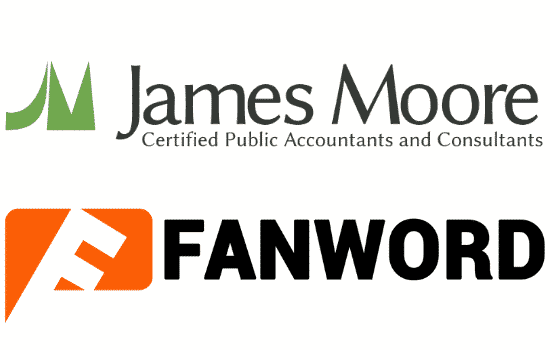James Moore and Co partners with Fanword